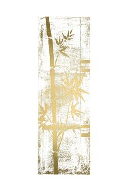 Gold Foil Bamboo I by Jennifer Goldberger