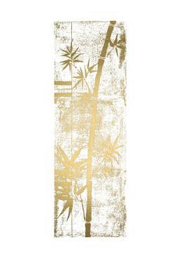 Gold Foil Bamboo II by Jennifer Goldberger