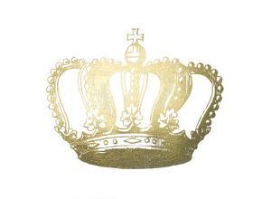 Gold Foil Crown I by Jennifer Goldberger