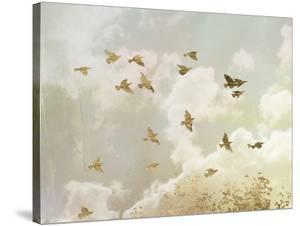 Golden Flight II by Jennifer Goldberger