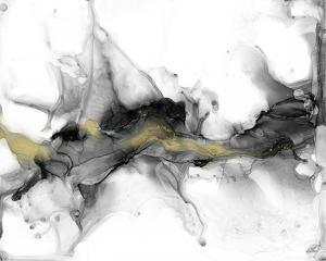 Golden Precipice I by Jennifer Goldberger