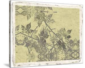 Grey Leaves I by Jennifer Goldberger