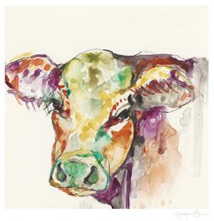Hi Fi Farm Animals I by Jennifer Goldberger