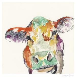 Hi Fi Farm Animals II by Jennifer Goldberger
