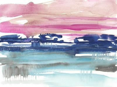Indigo Sunset II by Jennifer Goldberger