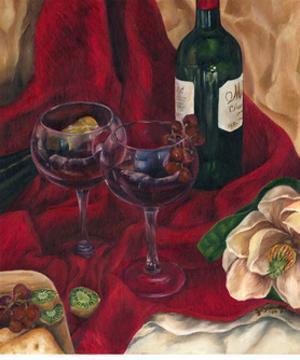 Jennifer's Wine Indulgence II by Jennifer Goldberger