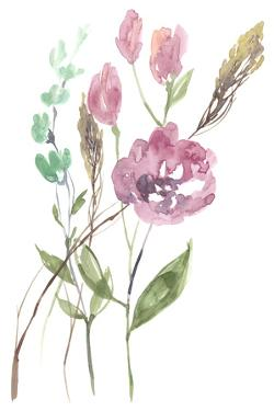 Late Season Bouquet II by Jennifer Goldberger