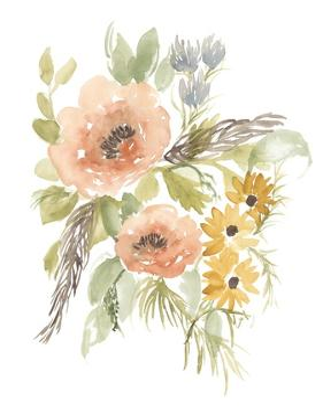Late Summer Flowers I by Jennifer Goldberger