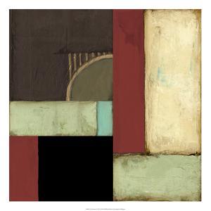 Loft Abstract I by Jennifer Goldberger
