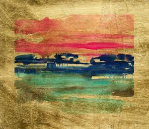 Lustr Indigo Sunset II by Jennifer Goldberger