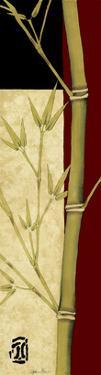 Meditative Bamboo Panel II by Jennifer Goldberger