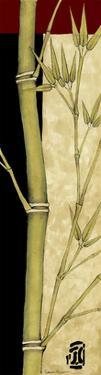 Meditative Bamboo Panel III by Jennifer Goldberger