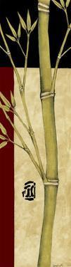 Meditative Bamboo Panel IV by Jennifer Goldberger