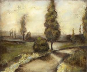 Misty Morning II by Jennifer Goldberger
