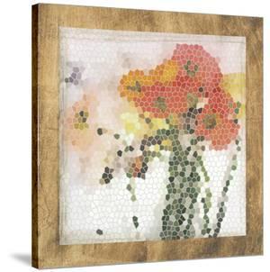 Mosaic Poppies II by Jennifer Goldberger