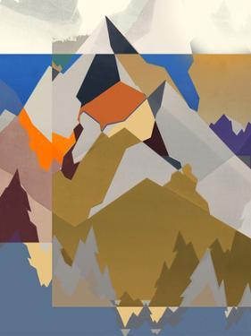 Mountain Extraction I by Jennifer Goldberger