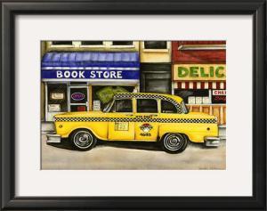 New York City Taxi, 46B2 by Jennifer Goldberger