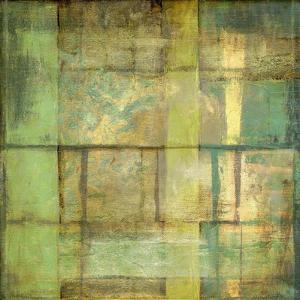 Non-Embellish Guilded Turquoise II by Jennifer Goldberger