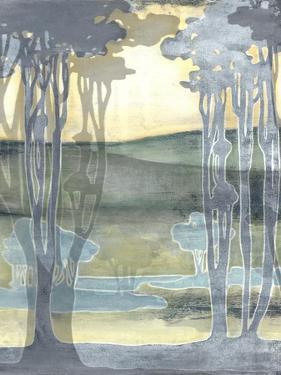Non-Embellished Nouveau Landscape I by Jennifer Goldberger