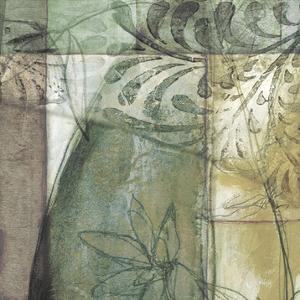 Non-Embld. Stained Glass Garden II by Jennifer Goldberger