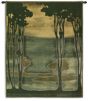 Nouveau Trees by Jennifer Goldberger