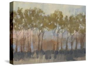 Ochre Treeline I by Jennifer Goldberger