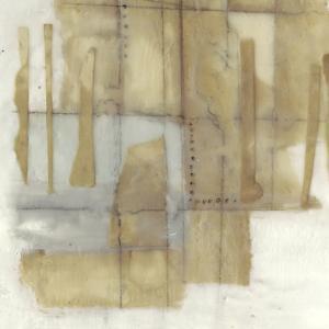 Paper Stitches I by Jennifer Goldberger