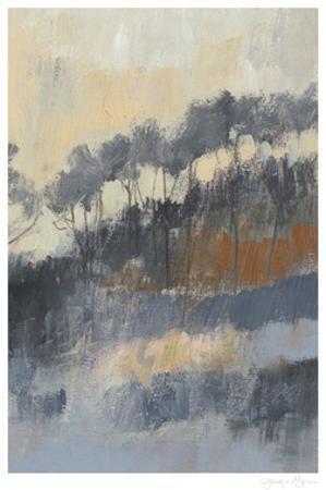 Paynes Treeline II by Jennifer Goldberger