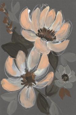 Peach & Sienna Bouquet I by Jennifer Goldberger