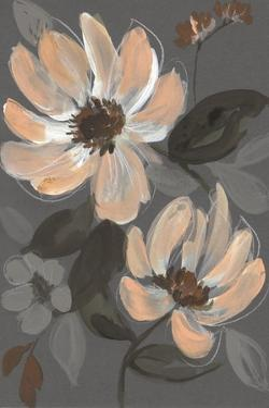 Peach & Sienna Bouquet II by Jennifer Goldberger
