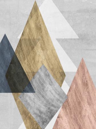 Peaks I by Jennifer Goldberger