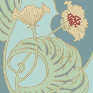 Poppy Flourish II by Jennifer Goldberger