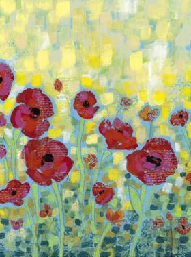 Poppy Impressions I by Jennifer Goldberger