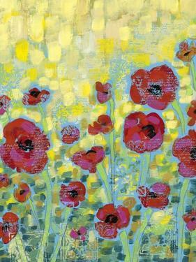Poppy Impressions II by Jennifer Goldberger