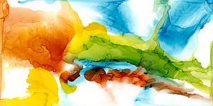 Primary Plume II by Jennifer Goldberger