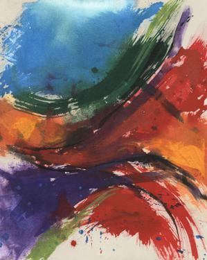 Primary Splash I by Jennifer Goldberger