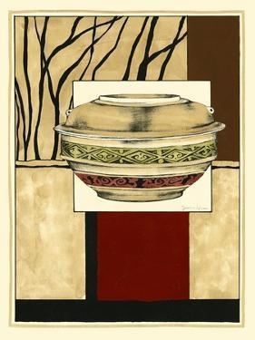 Printed Porcelain Garden II by Jennifer Goldberger