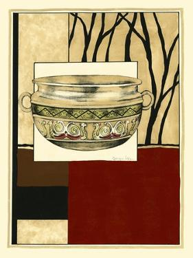 Printed Porcelain Garden III by Jennifer Goldberger