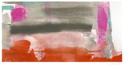 Red, Pink & Grey III by Jennifer Goldberger