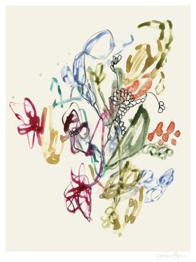 Scribble Arrangement II by Jennifer Goldberger