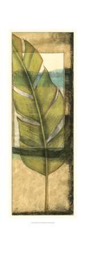 Seaside Palms V - Gold Leaf by Jennifer Goldberger