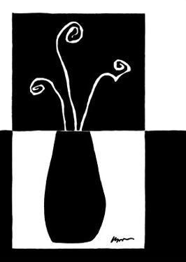 Small Minimalist Flower II by Jennifer Goldberger