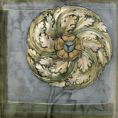 Small Rosette & Damask III by Jennifer Goldberger