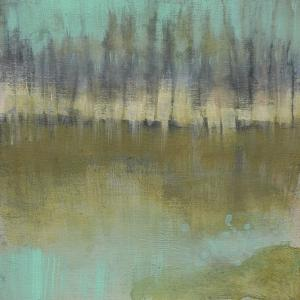 Soft Treeline on the Horizon I by Jennifer Goldberger