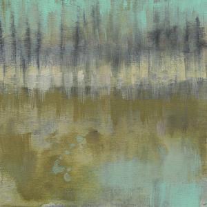 Soft Treeline on the Horizon II by Jennifer Goldberger