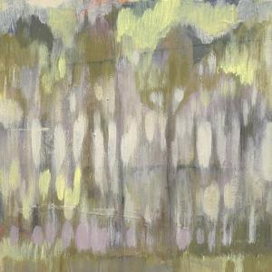 Stained Glass Trees II by Jennifer Goldberger