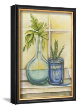 Sunkissed Herbs I by Jennifer Goldberger