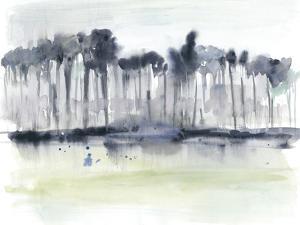 Treeline Splash I by Jennifer Goldberger