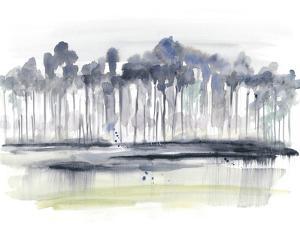 Treeline Splash II by Jennifer Goldberger