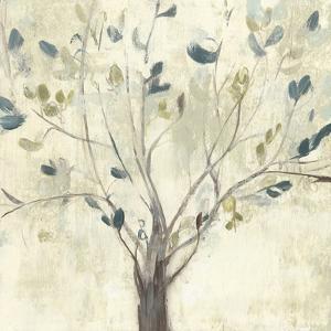 Trees of Blue I by Jennifer Goldberger